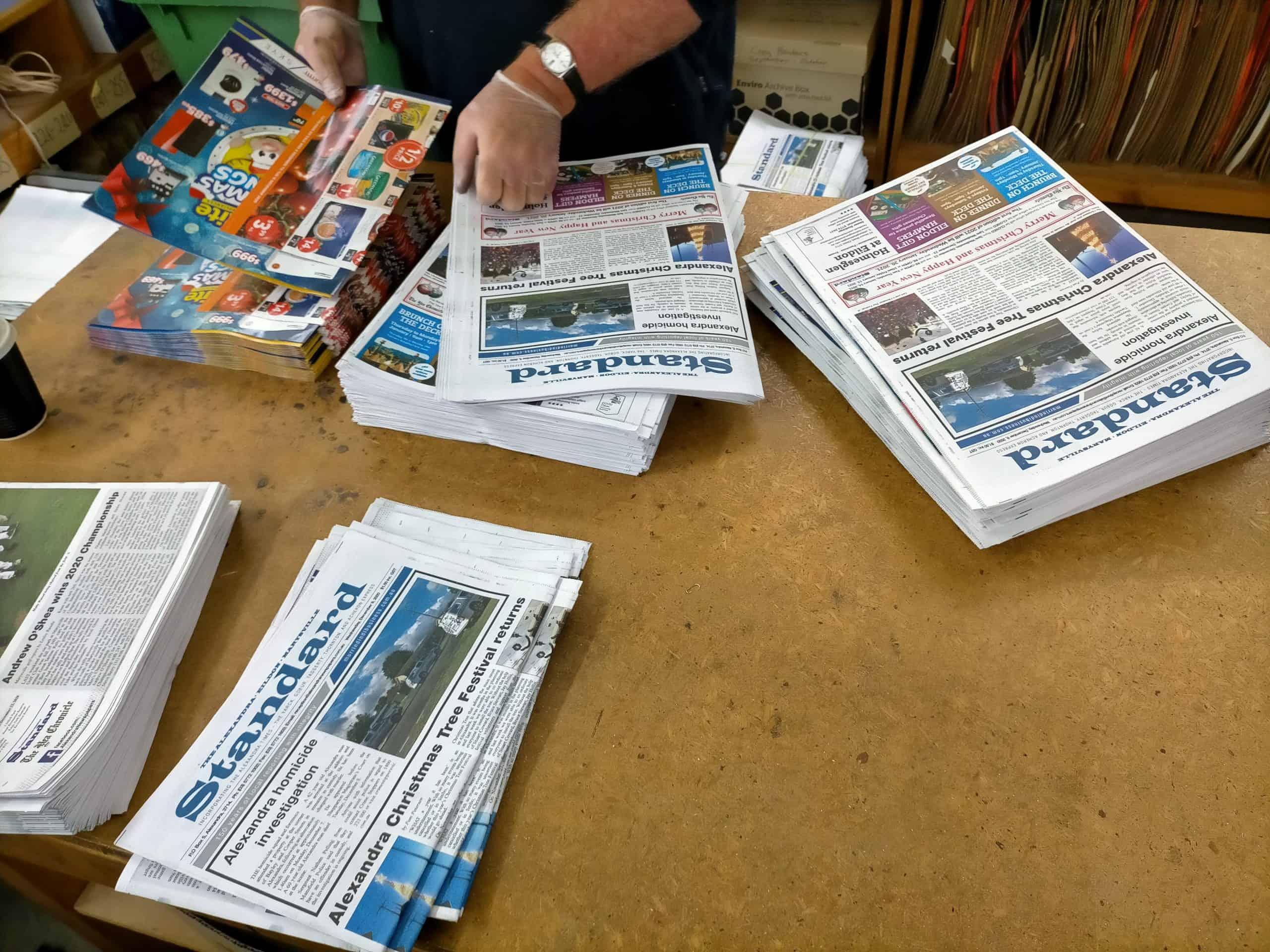 Alexandra Newspapers Inserts