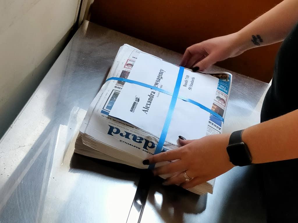 Alexandra Newspapers distribution
